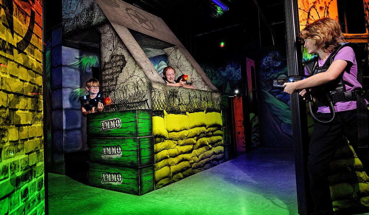 The Hangar Laser Tag Arena