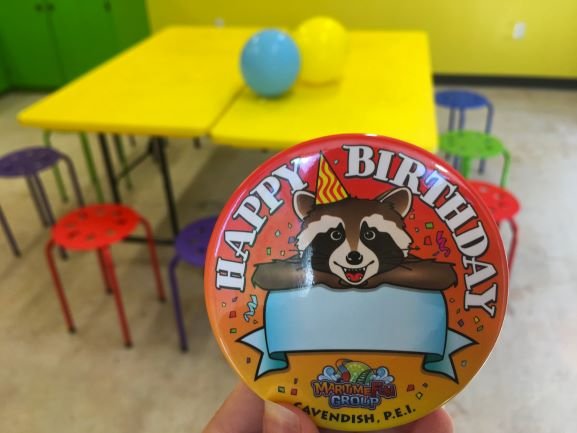 Cavendish Beach Adventure Zone Birthdays
