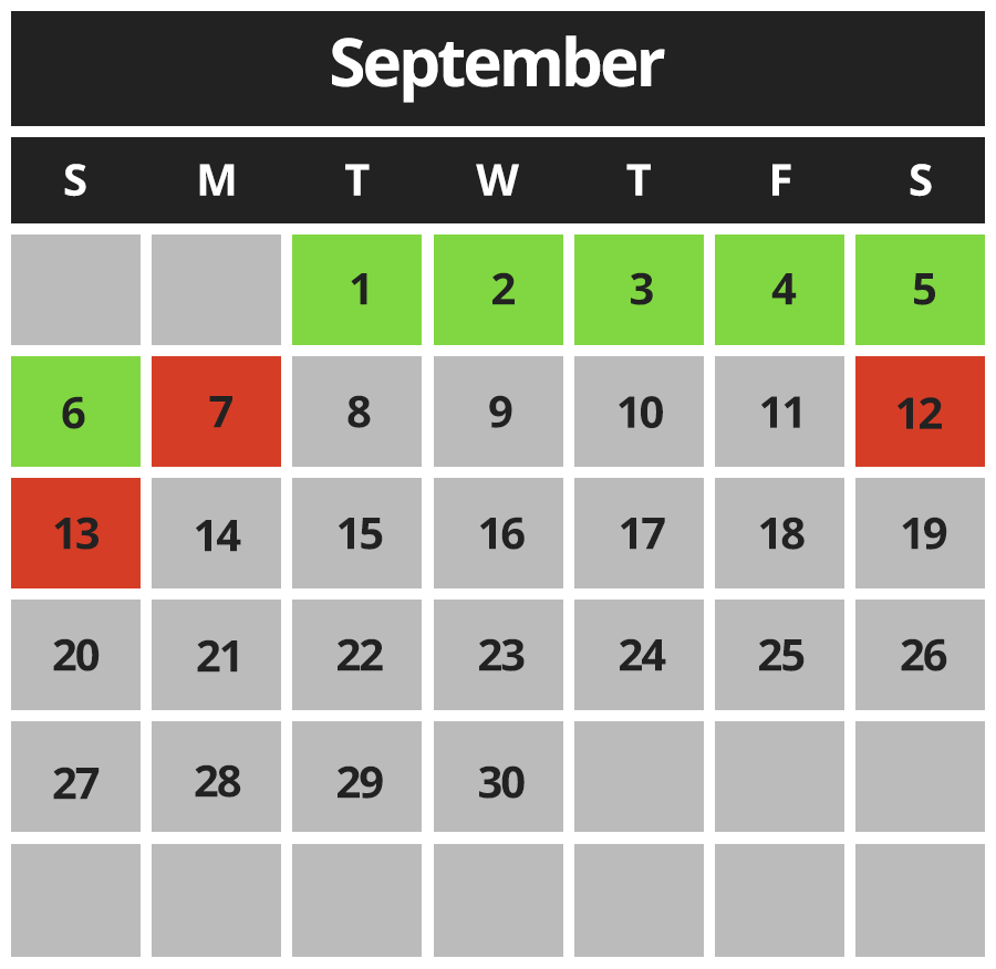 Hangar Laser Tag September 2020 Hours