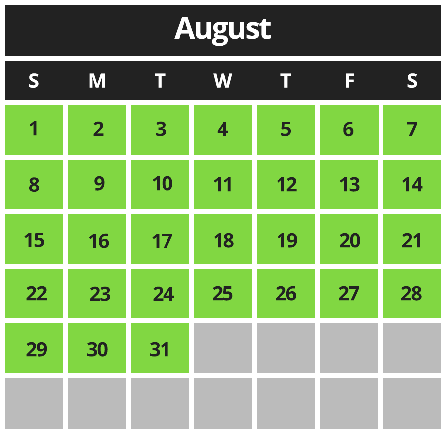 Cavendish Beach Adventure Zone August 2021 Hours