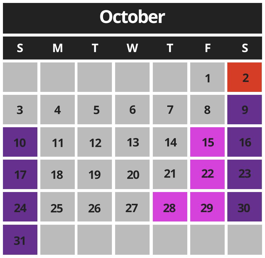 CBAZ Sept Calendar