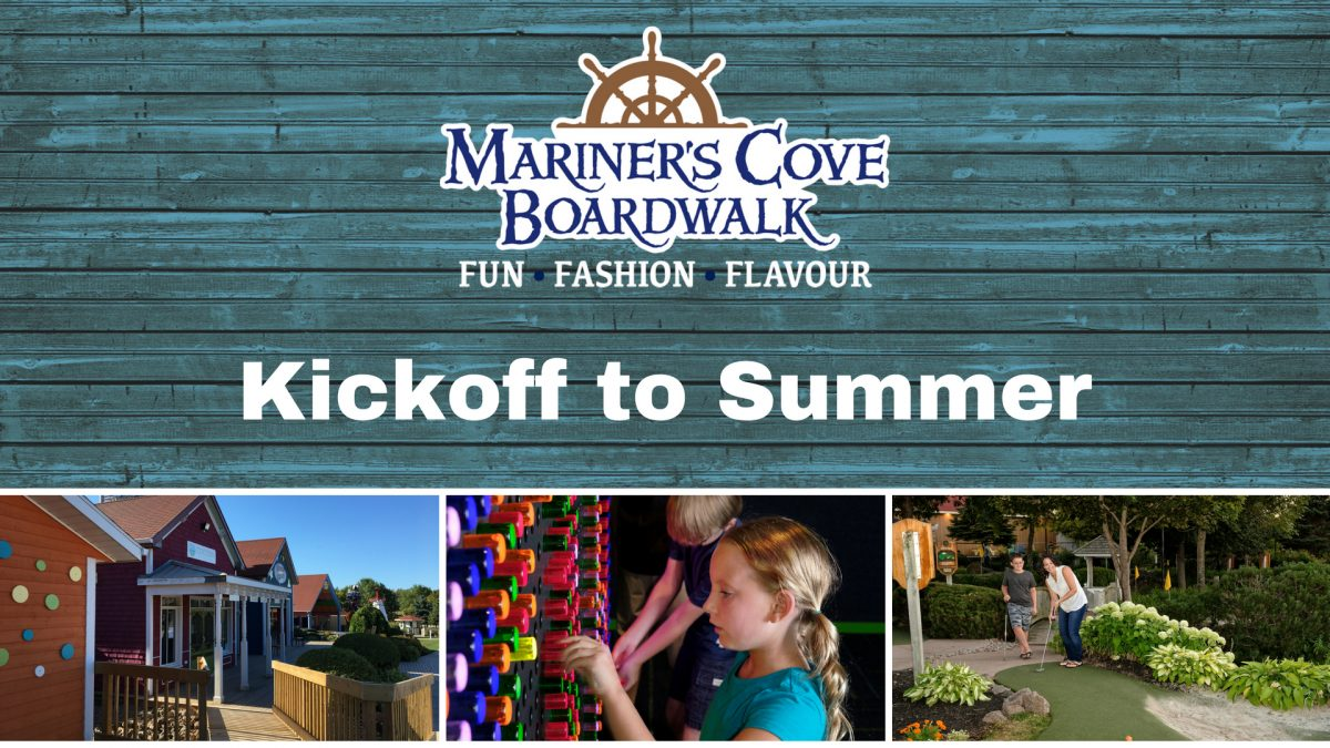 Mariner's Cove Boardwalk Kickoff to Summer