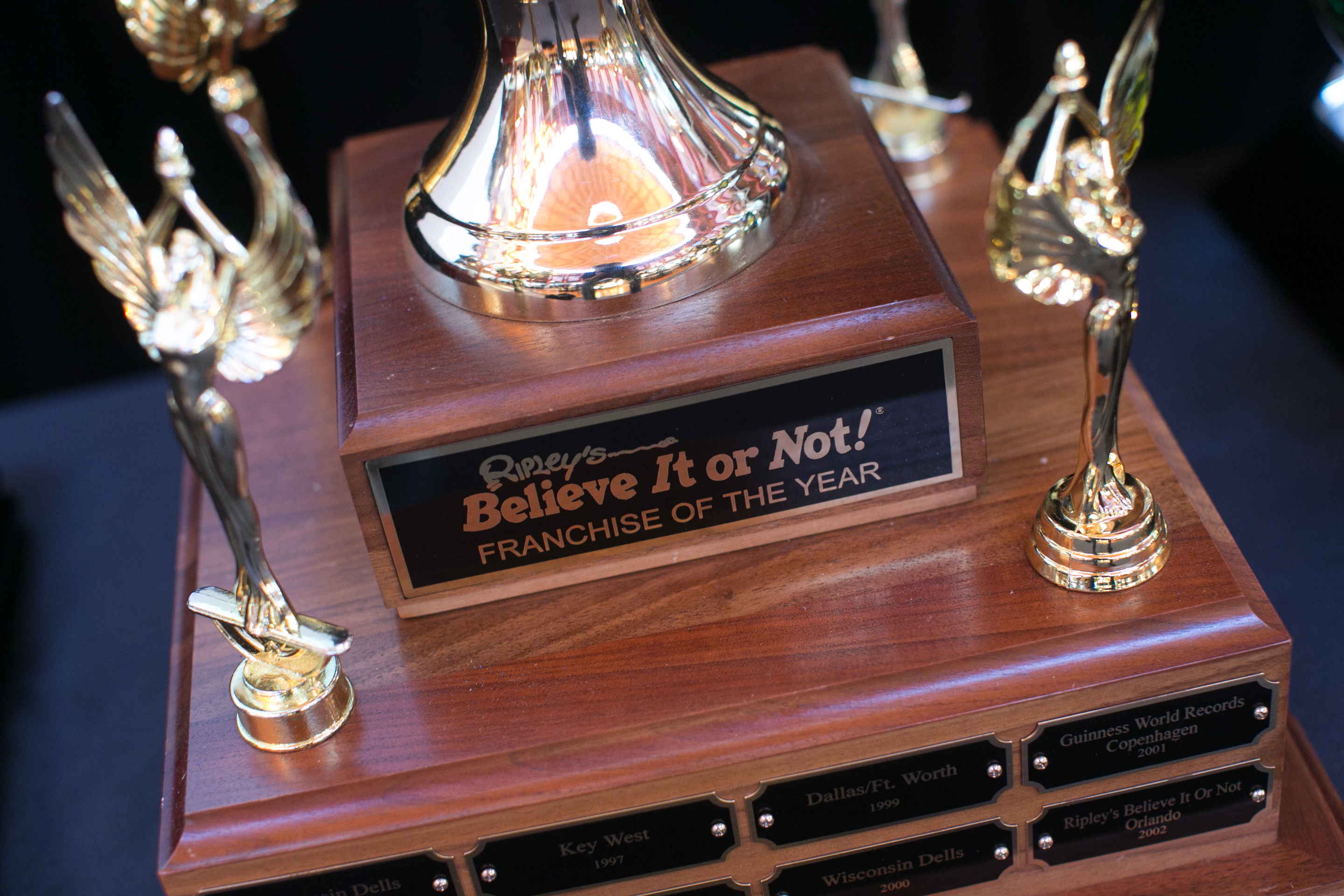 Ripley's Believe It or Not! Cavendish Beach Wins Franchise of the Year