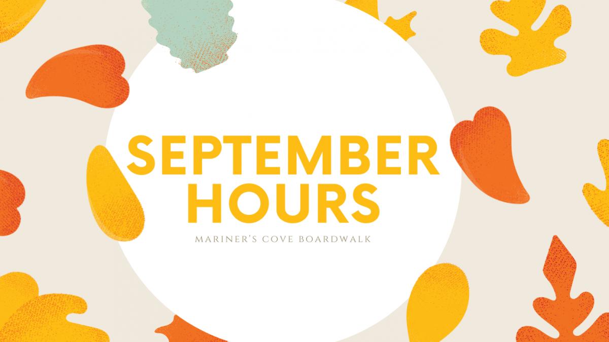 September 2020 Hours