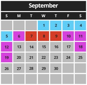 Mariner's Cove Boardwalk September 2021 Hours