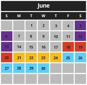 MCB June 2021 Hours