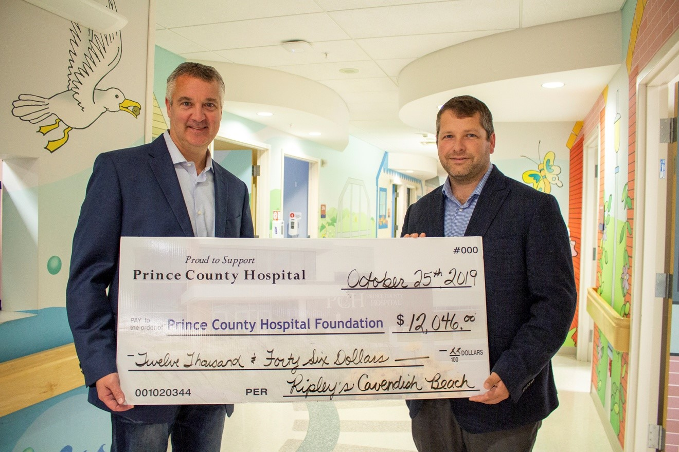 Maritime Fun Group Donates to PCH Foundation